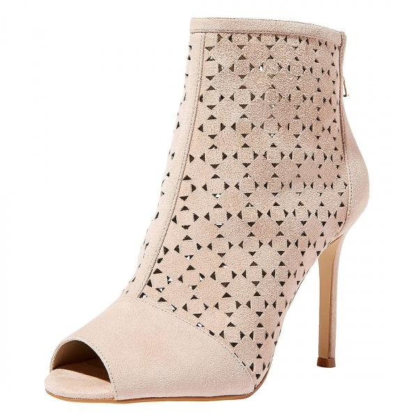 Carvela Peep Toe Shoe Boots