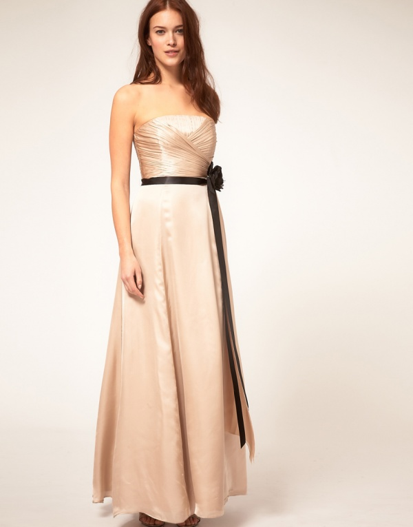 Coast Maxi Champagne Dress