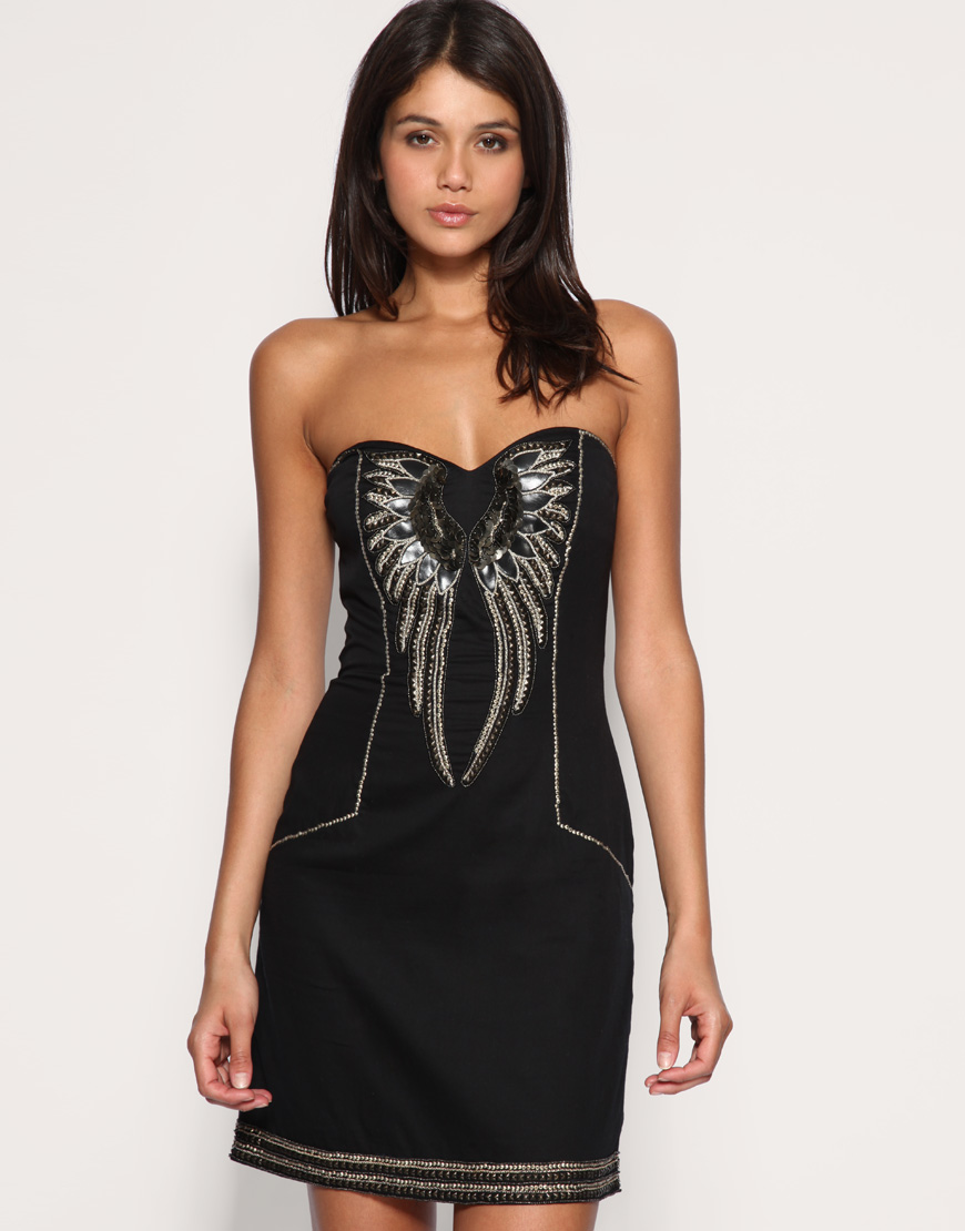 French Connection Bustier Dress