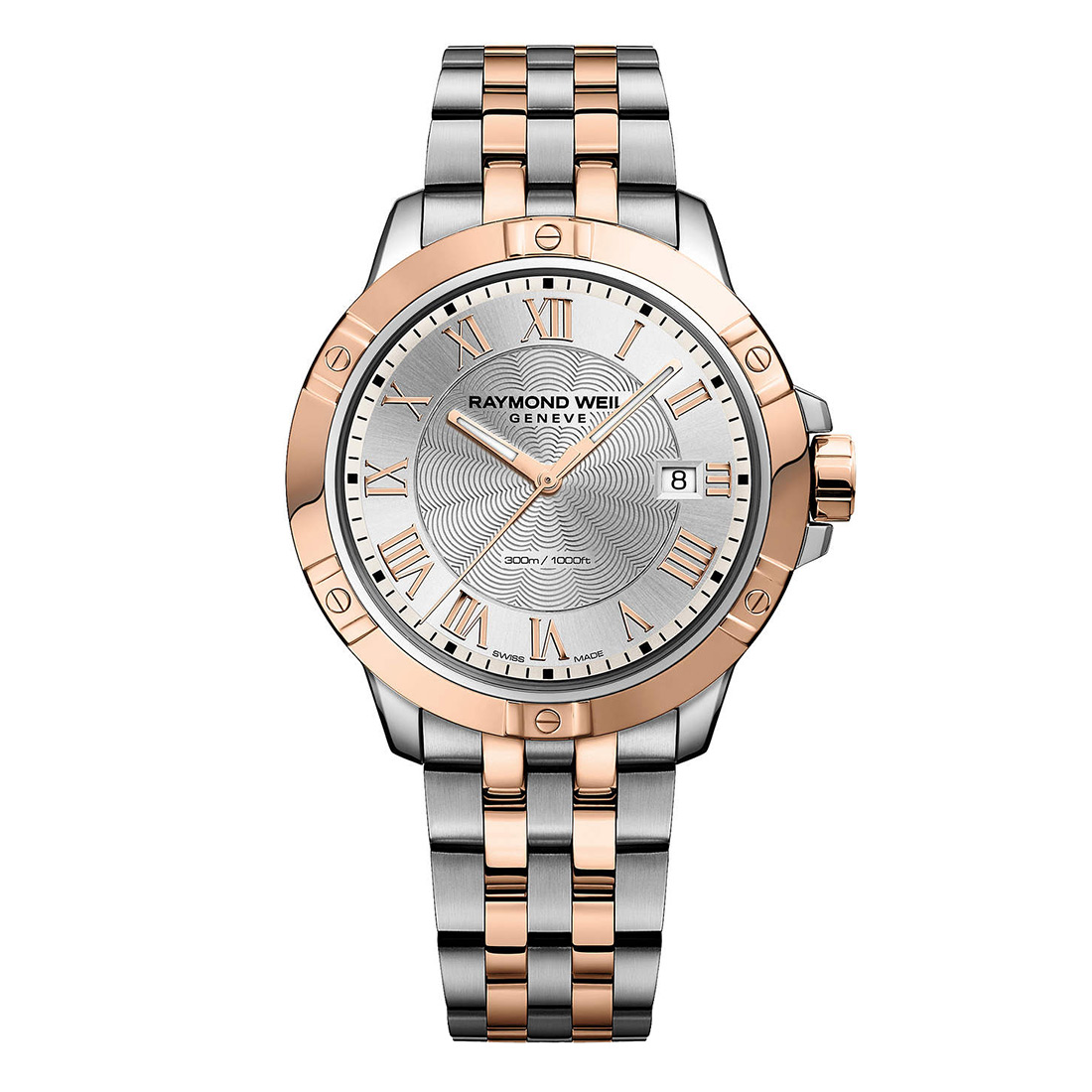 Raymond Weil Two Tone Bracelet Watch