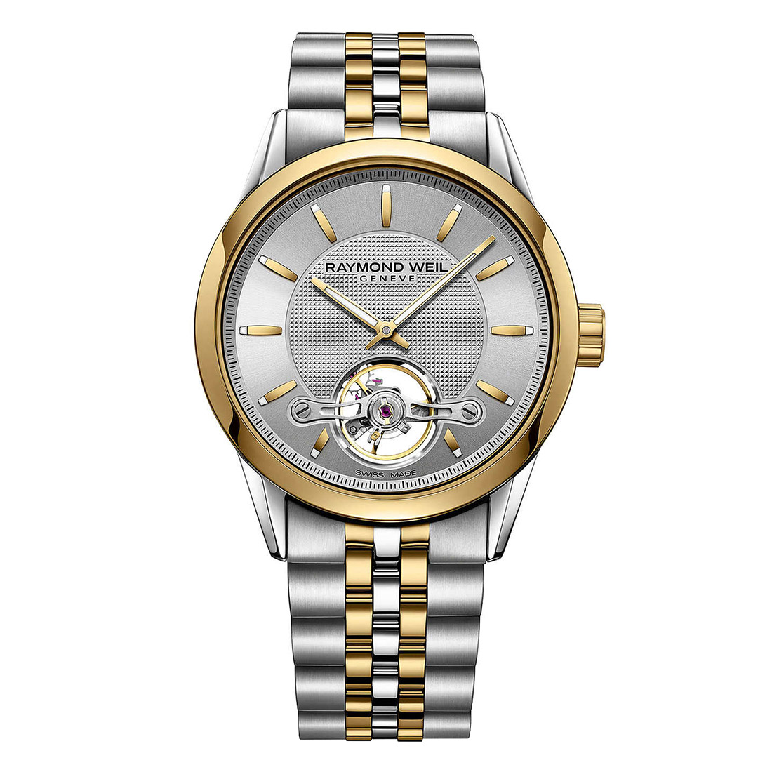 Raymond Weil Yellow Gold Bracelet Watch