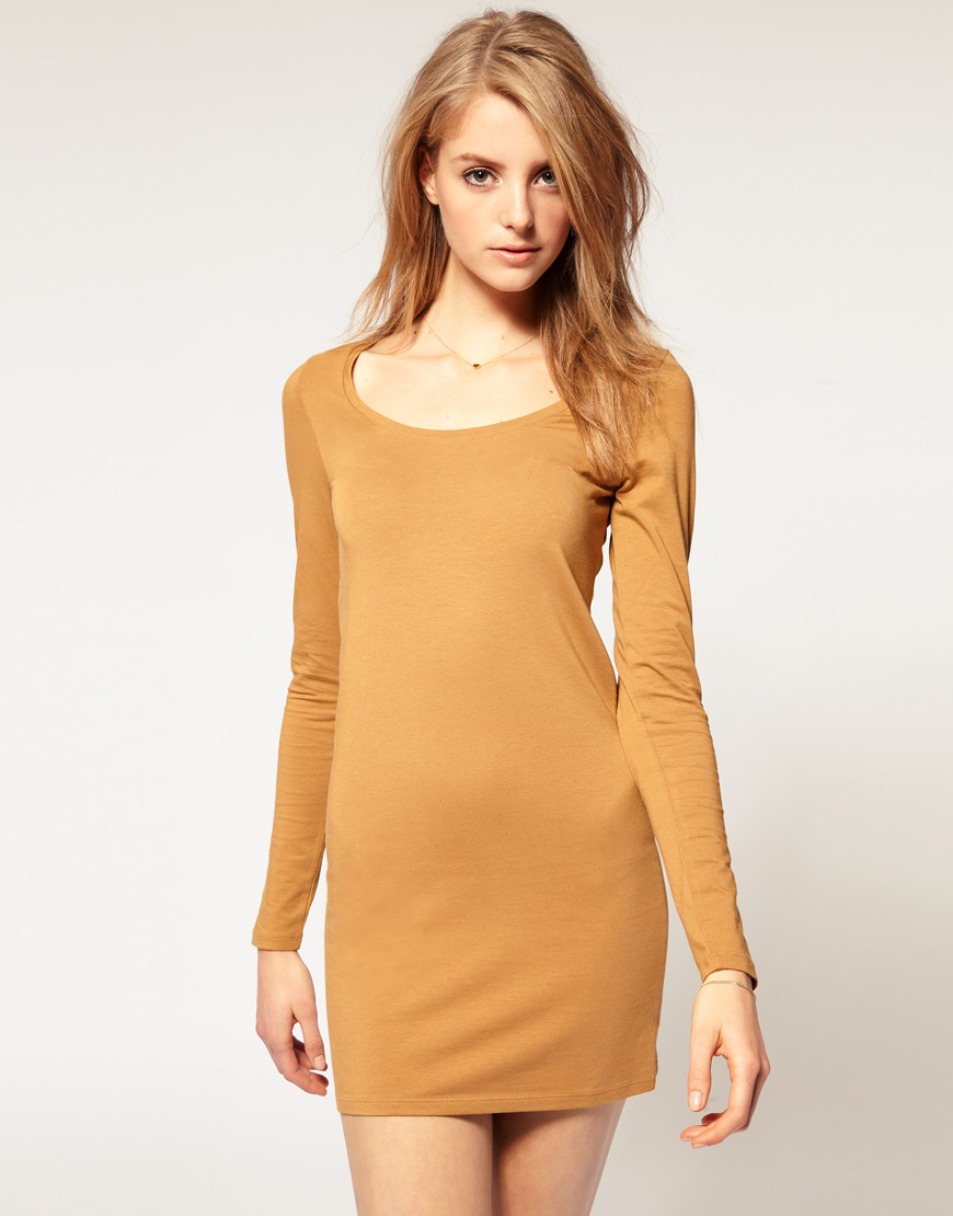 Vila Long Sleeve Mini Dress