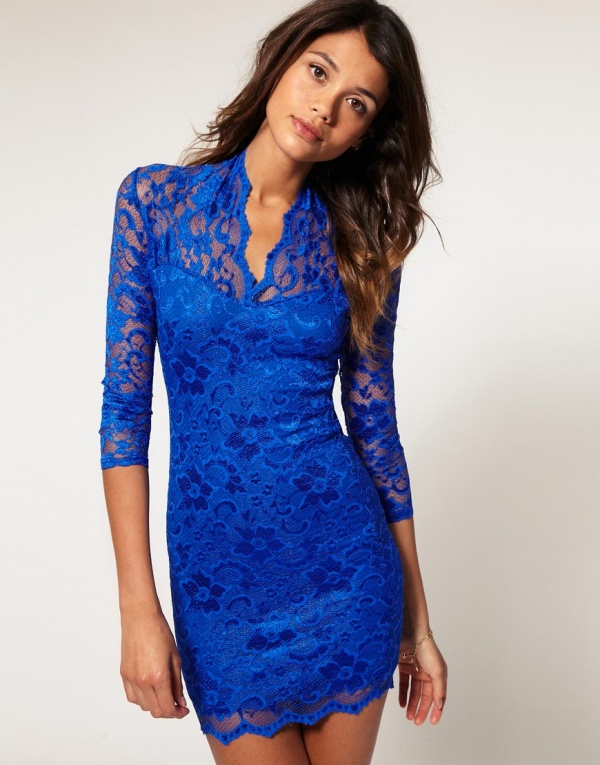 Sosa Lace Mini Dress